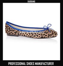 Hot selling ladies fancy flat shoes,nude ladies flat shoes
