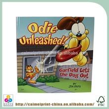 China supplier children hardcover books binding