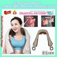 Patent Exclusive Heating Shoulder Back Massage shawl, Kneading Massage Belt F-718B for Shoulder Back
