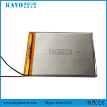 KPL357092 2800MmAh 3.7v lipo battery lithium ion battery for Tablet PC / MID / PDA