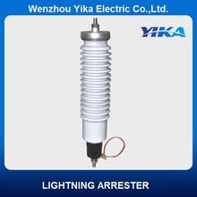 Wenzhou Yika Porcelain Lightning Arrester 11KV 5KA/10KA