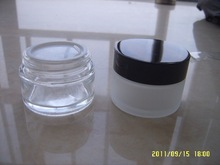 30g frosted glass bottle,cosmetic glass bottle