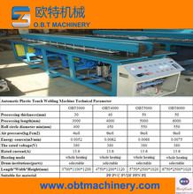 Plastic welding machine for PP PE film