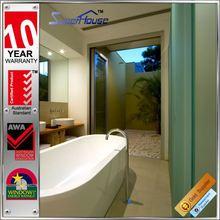 Hot sale hurricane impact hinged prefabricated aluminum windows and doors
