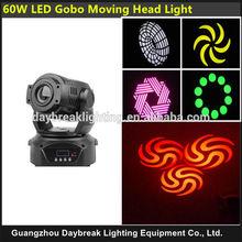 Spot 60 Watt colorful Led Moving Head