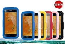 2015 Hybrid TPU + PC+ PET Waterproof Case For Samsung Galaxy S6 Waterproof Case