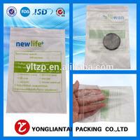 Shenzhen Yongliantai small freezer transparent metal ldpe recycled clear hdpe plastic zipper mini ziplock pe bag