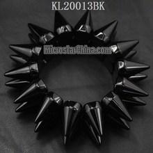 Hot Silver Gold Stud Rivet Shaped Bracelet