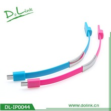 Bracelet USB Portable Charger cable for Mobile Phone(customized color)