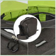 Hot selling godspeed dslr fashion canvas digital video camcorder bag
