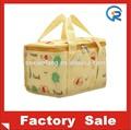 Personalizado saco almoço cooler/personalizado isolados forro de folha de lancheira/almoço sacola