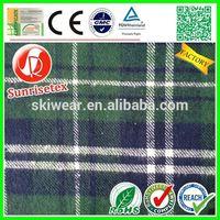 Popular new design 100% cotton yarn dyed shirting fabric Factory