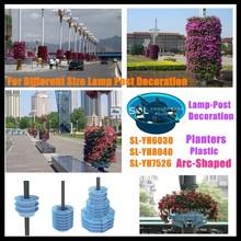 flower pots for sale for garden vertical and lamp pole post decoration cheap flower pots