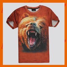 Wholesale 3D printing t shirts cheap t shirts in bulk plain