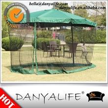 DYB10 Danyalife Hot Selling 2.7m Steel Side Pole Square Garden Umbrella