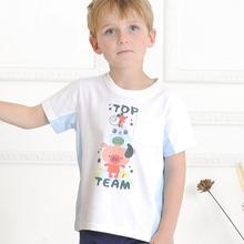 MS63374C 2015 latest summer design organic cotton boys t shirts