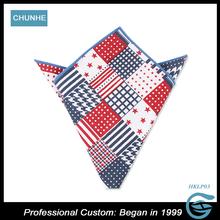 Popular Fashion Custom Print Real 100% polyester handkerchief wholesale