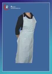 disposable polyester CPE disposable apron or hairdressing use