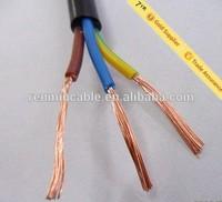 ho3vvh2-f pvc insulated/pvc sheathed flat wire