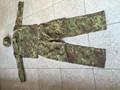 militar stock establece ejército conjunto uniforme de camuflaje