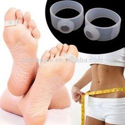 Slimming Health Silicone Toe Rings Magnetic Foot Massage Lose Weight Toe Rings Slimming Toe Rings HA00540
