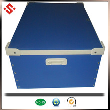 pp corrugated plastic handles carrying case