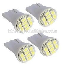 Car Lights Bulb White T10 3528 8-SMD 194 168