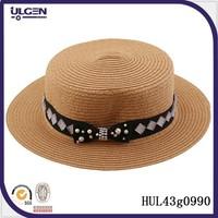 Fashionable summer hats bowknot bandage hot 2015 summer