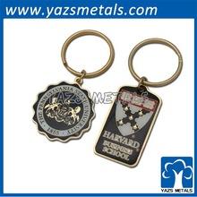 printing metal keychain custom made