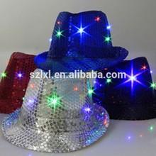 jazz party flashing led hats
