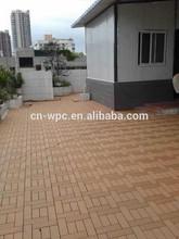2015 best selling wpc interlocking decking tiles