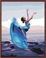 обнаженных женщин картина маслом, картина по номерам обнаёенная девушка искусство фотография, танцор фото gx6350
