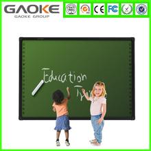 "82"" movable usb IR best class digital smart board OEM e-board interactive whiteboards multitouch electronic whiteboard for kids"