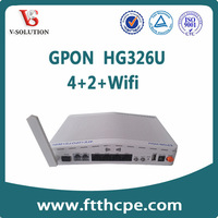WiFi GEPON ONU Good Price for Optical Transceiver with SC/PC connector 300Mbps 2T2R Wifi EPON ONU