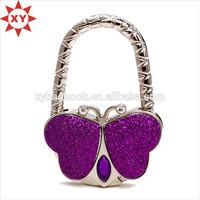 Crystal arrective design bag hangers purse hangers bag holder