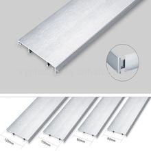 aluminium skirting board , aluminium wall skirting , aluminium flooring skirting