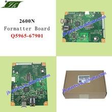 Printer Spare Parts Color Laserjet printer 2600 2600N Formatter Board Logic Card Main Board Q5965-67901 Q5965-60001