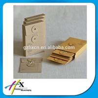 Mini Vintage Retro Kraft Paper Envelopes Brown Kraft Paper Envelop with String With Eyelets