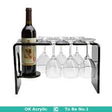factory custom acrylic wine bottle holder