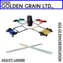 Super plastic Agility Speed Ladder For Soccer Training