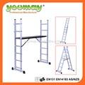 En131-approved de aluminio andamio con de madera contrachapada de la plataforma ( AM0407A )