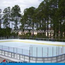 Customized Uhmwpe ice sheet/ ice skating rink