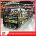 Gôndola prateleira do supermercado usado prateleira do supermercado