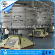 separating plant type CE fused alumina circular rotary screen sieve