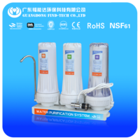 kitchen tools 2 stage water filter parts water machine