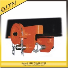 Construction Lifting Equipment electric gear trolley0.5-5T/trolley school bags