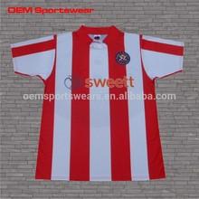 New design custom polyester grade ori soccer jersey