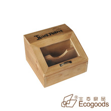 small wooden boxes with glass lids wholesale
