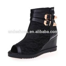 black women peep high heel shoe woman sandals 2015