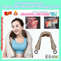 many head Kneading Should Back Massage Belt in Office Home and Car,Kneading Patent Massage Belt F-718B for Shoulder Back
